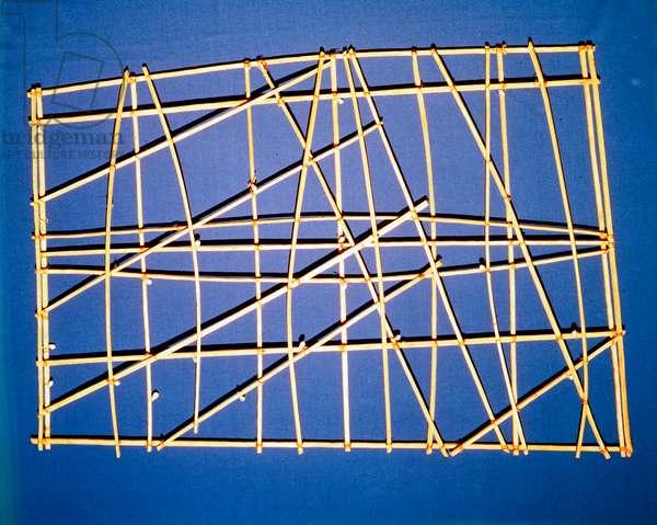 Polynesian Stick Chart