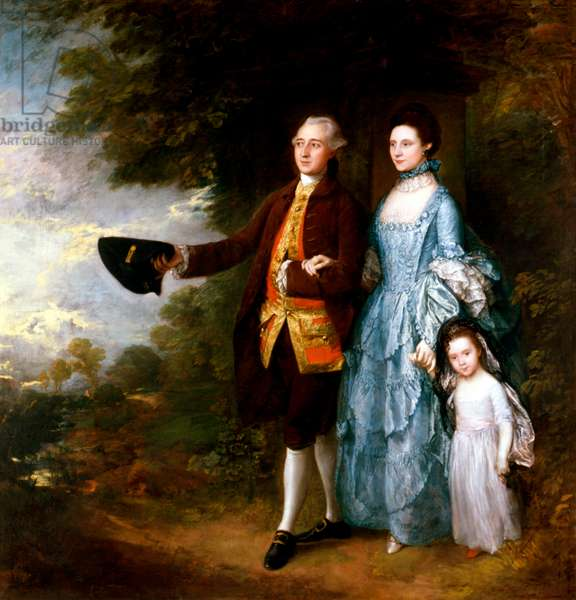 The Byam Family by Thomas Gainsborough