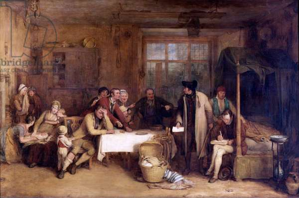 Distraining for Rent by Sir David Wilkie