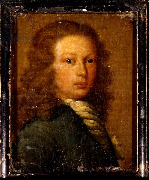 Portrait of Captain William Kidd as a young man (oil on canvas)