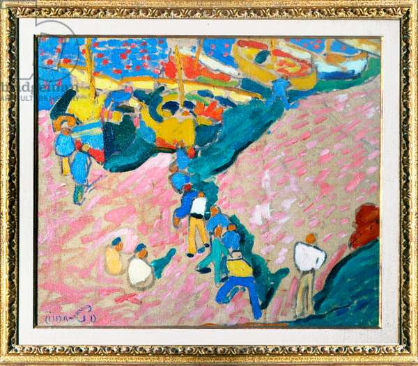 Fishermen at Collioure by André Derain