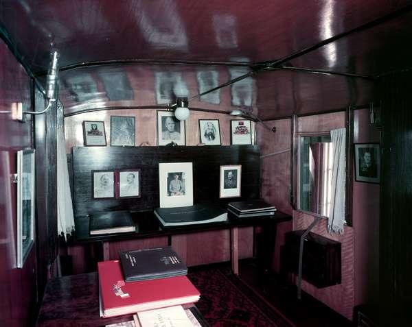 Caravan belonging to Field Marshal Bernard Law Montgomery (colour photo)