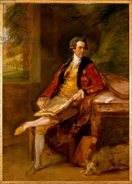 Willoughby Bertie by Thomas Gainsborough