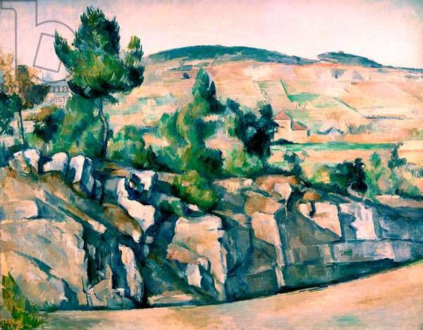 Hillside in Provence by Paul Cézanne