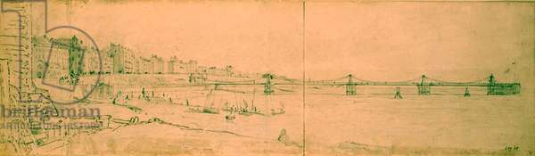 The Marine Parade and Chain Pier by John Constable