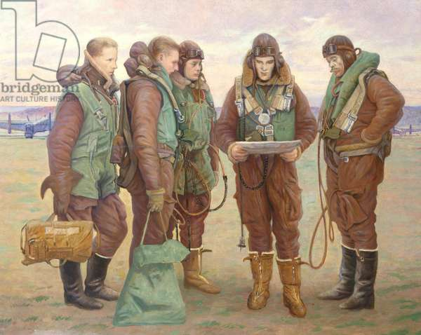 Pilots at Tangmere, 1941