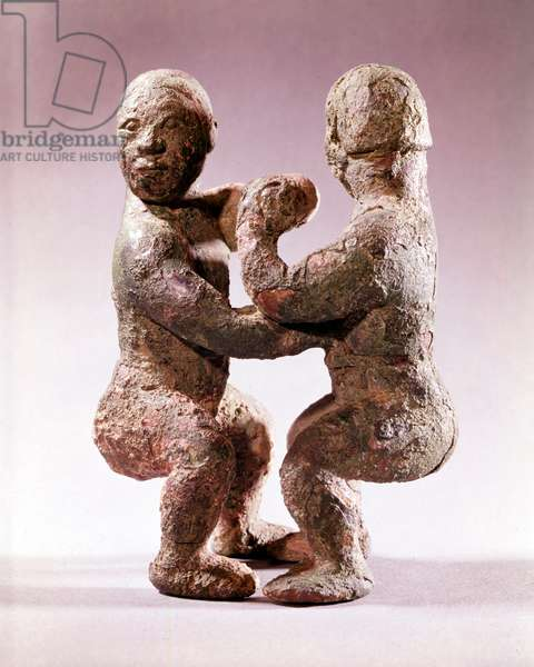 Chinese Wrestlers (bronze)