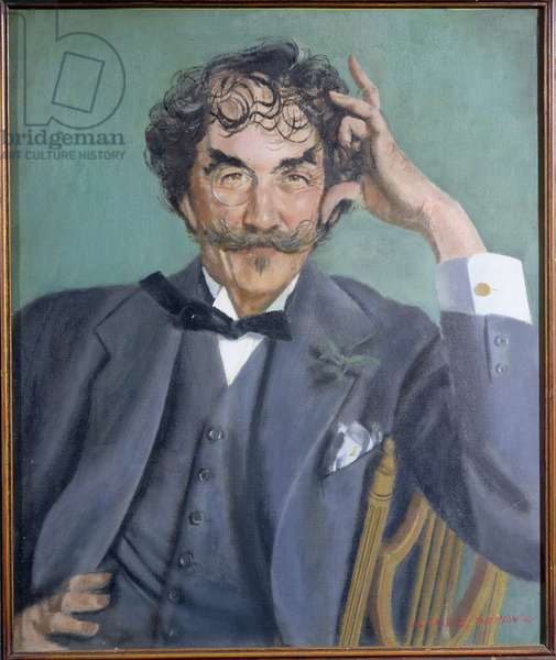 Portrait of James Abbott McNeill Whistler (1834-1903), 1962 (oil on canvas)