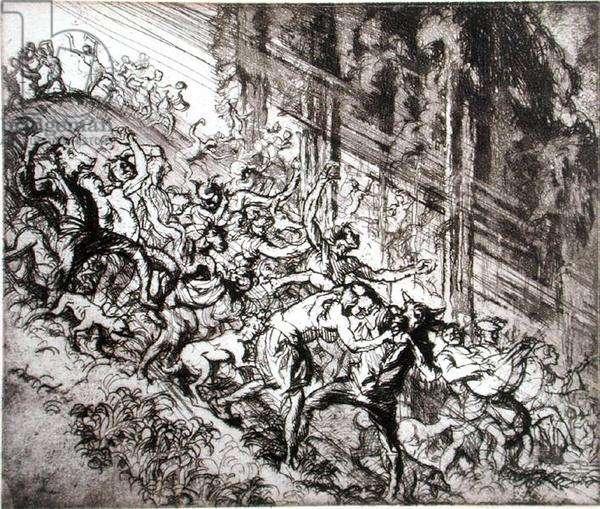Chaos Scene (litho)