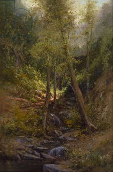 Mountain Stream, 1906 (oil on canvas)