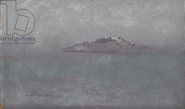 Alcatraz, c.1910-20s (oil on canvas)