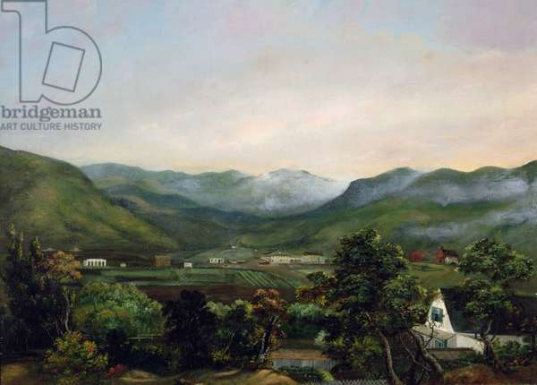 Mission Dolores Valley, 1857 (oil on canvas)