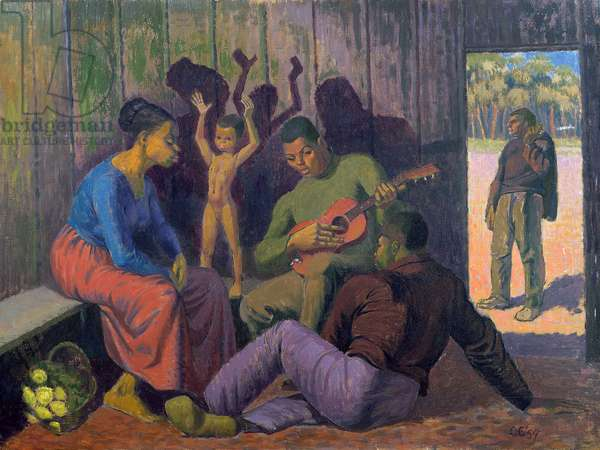 Negro Spritual, 1959 (oil on canvas)
