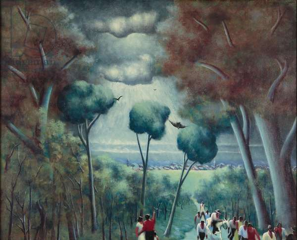 Town of Hope, 1927 (oil on canvas)