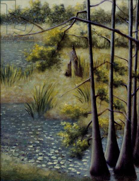 Landscape, 1928 (oil on canvas)