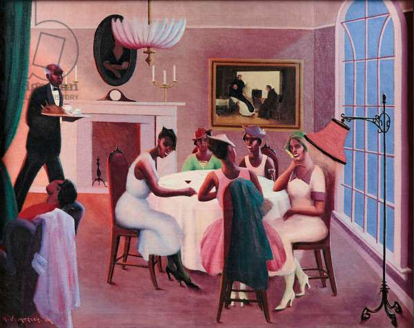 Cocktails, c. 1926 (oil on canvas)