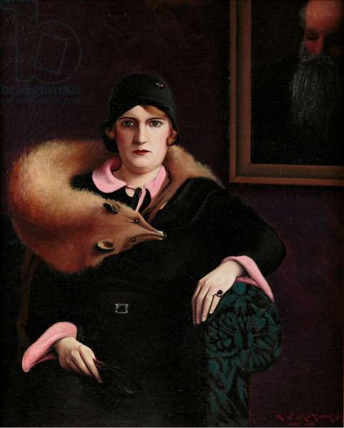 Portrait of Mrs. A. J. Motley Jr., 1930 (oil on canvas)