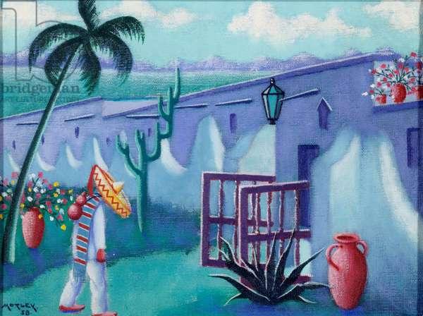 Near San Miguel de Allende, Mexico, 1958 (oil on canvas)