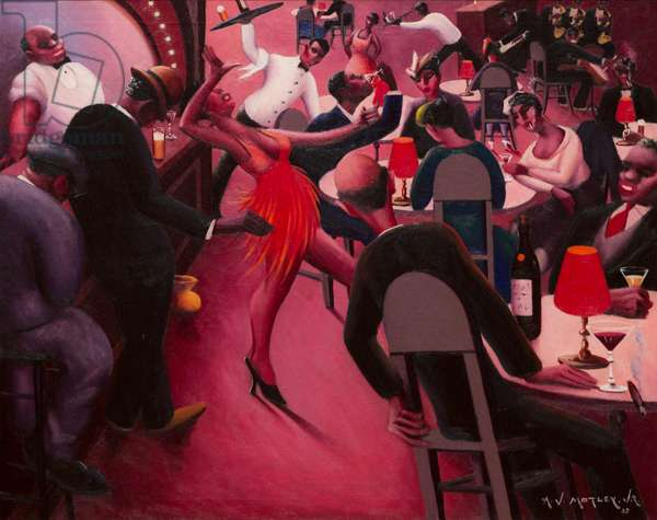 Saturday Night, 1935 (oil on canvas)