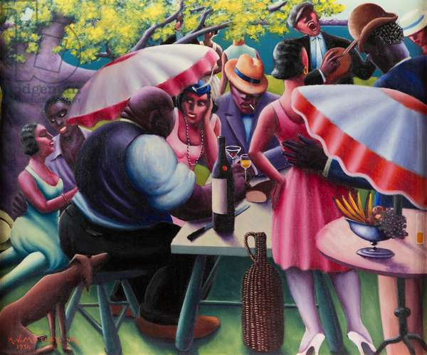 The Picnic, 1936 (oil on canvas)