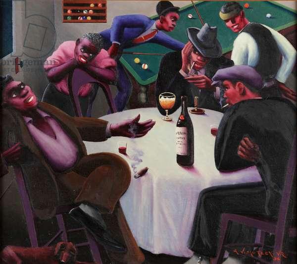 The Liar, 1936 (oil on canvas)
