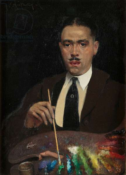 Self-Portrait, circa 1920 (oil on canvas)