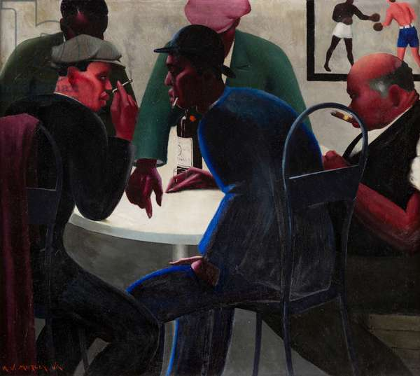 The Plotters, 1933 (oil on canvas)