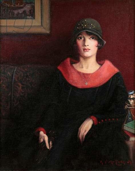 The Octoroon Girl, 1925 (oil on canvas)