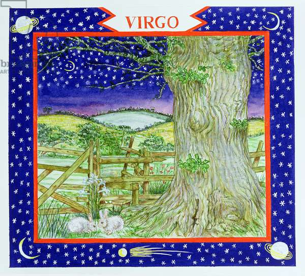Virgo (w/c on paper)