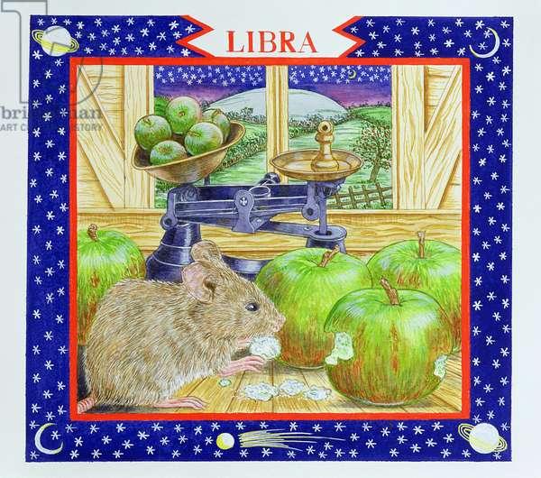 Libra (w/c on paper)