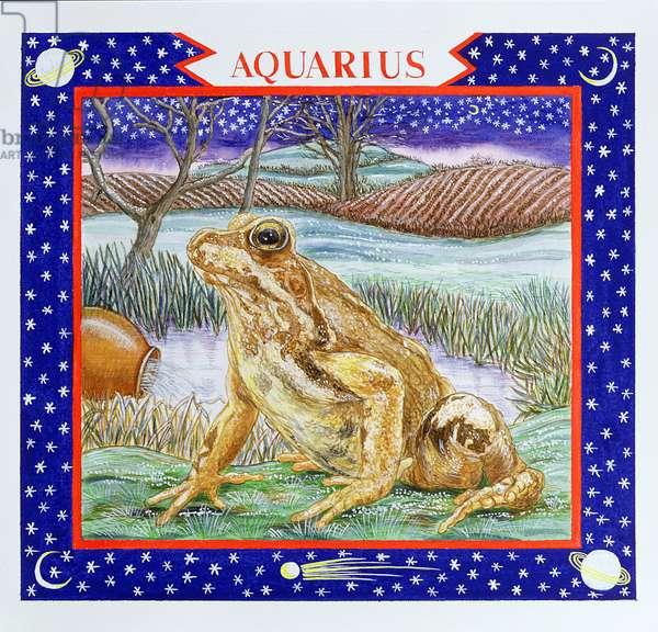 Aquarius (w/c on paper)