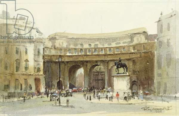The Admiralty Arch, London, 1992 (w/c on paper)