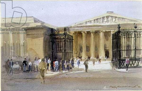 The British Museum, 1993 (w/c on paper)