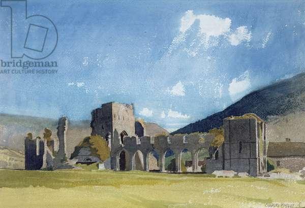 Llanthony Abbey (w/c on paper)