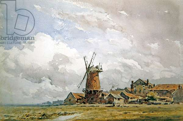 Cley Mill, Norfolk (w/c on paper)