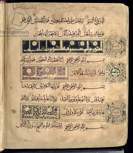 CBL Is 1439 fol.365b Folio from the Qu'ran in naskh script, from either Iran or Iraq, 12th or 13th century (vellum)