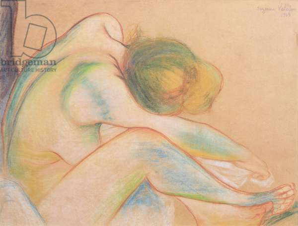 Nude Drying Herself, 1903 (pastel on paper)