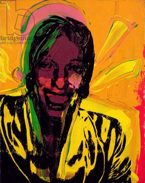 Ladies and Gentlemen (Wilhelmina Ross), c.1972 (silkscreen on canvas)