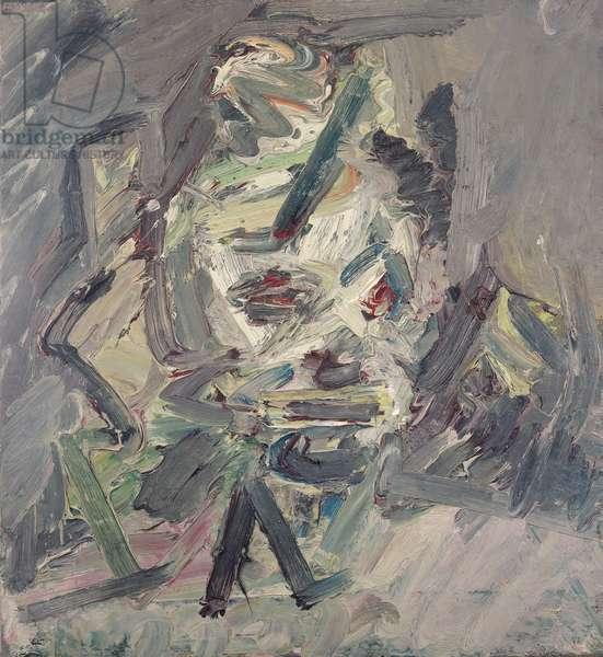Head of Catherine Lampert, 1984-85 (oil on canvas)