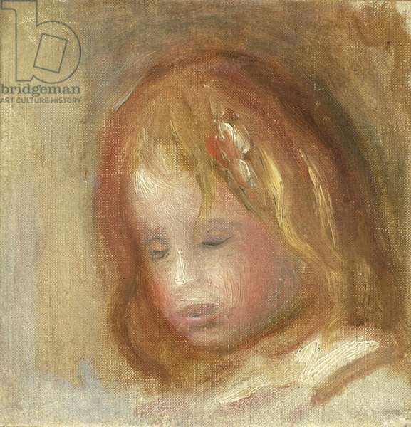 Portrait of a Child (oil on canvas)