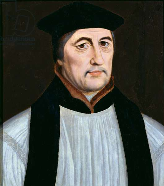 Portrait of Stephen Gardiner, Bishop of Winchester and Lord High Chancellor of England (1493-1555) (oil on panel)