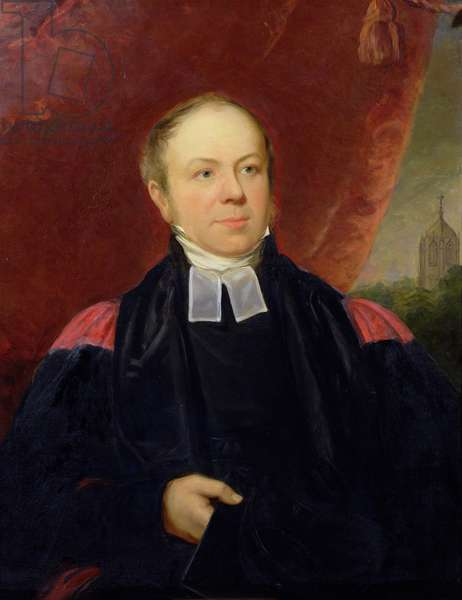 Portrait of William Buckland (1784-1856) Professor of Mineralogy at Oxford University and Dean of Westminster (oil on canvas)