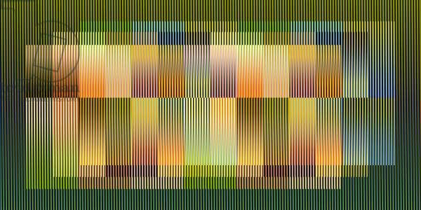 Color Aditivo serie Caracas C1, 2010 (chromography on aluminum)