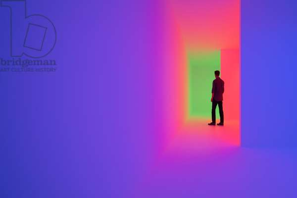 Chromosaturation, 1965-2017 (Chromatic environment composed of fluorescent tubes with red, green and blue coloured filters)