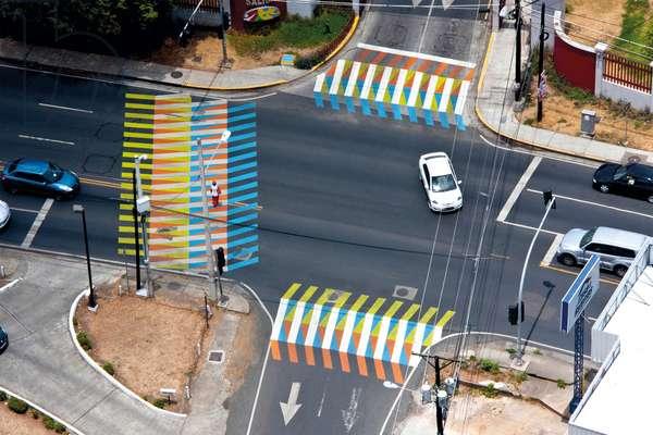 Color Aditivo, 2013 (asphalt paint)