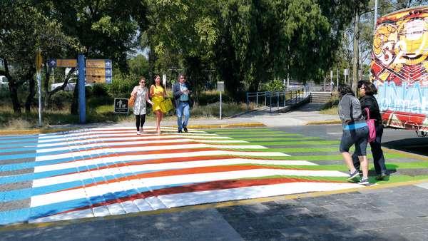 Color Aditivo, 2012 (asphalt paint)