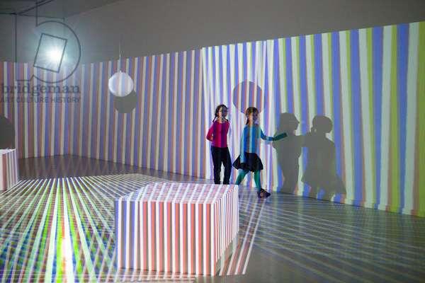 Environnement Chromointerférent, 1974-2012 (video projection)