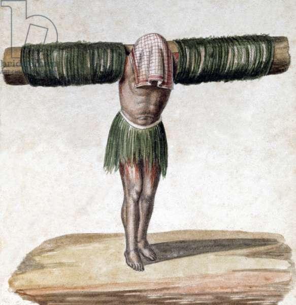Penitent in Peru