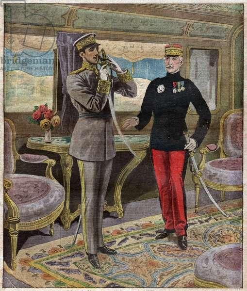 Alphonse XIII d'Espagne. Alfonso XIII of Spain.