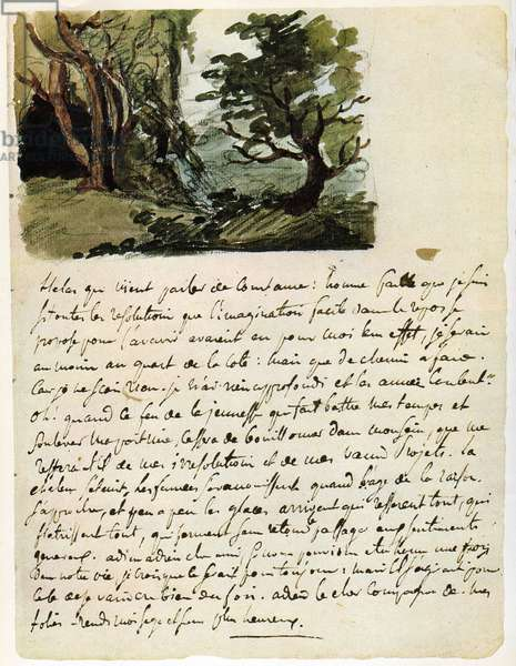 Eugene Delacroix.